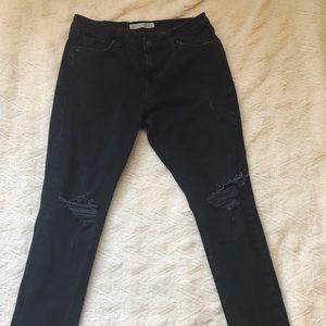 Black Moto Lucas topshop jeans